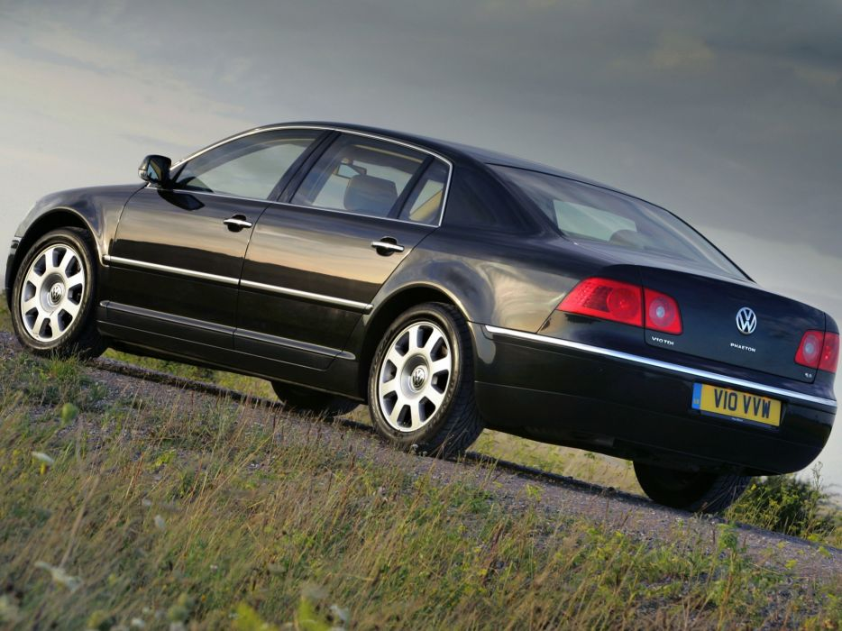 2005 Volkswagen Phaeton V10 TDI UK-spec v-8 wallpaper