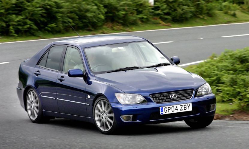 2005 Lexus I-S 300 UK-spec XE10 wallpaper
