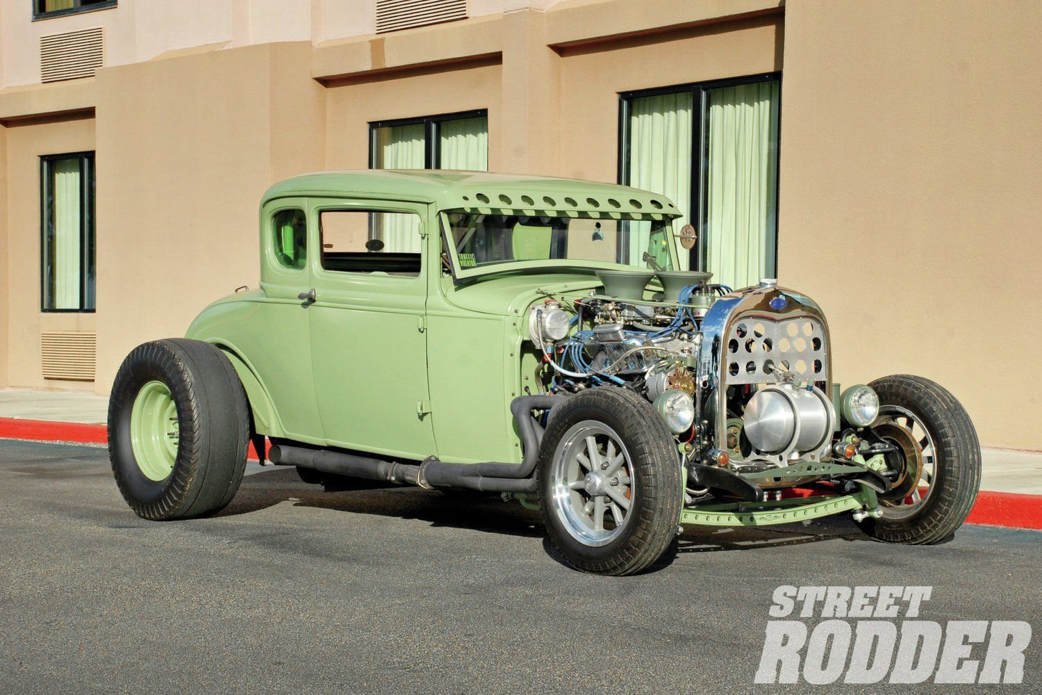 1929 Ford Model A Coupe-05 wallpaper