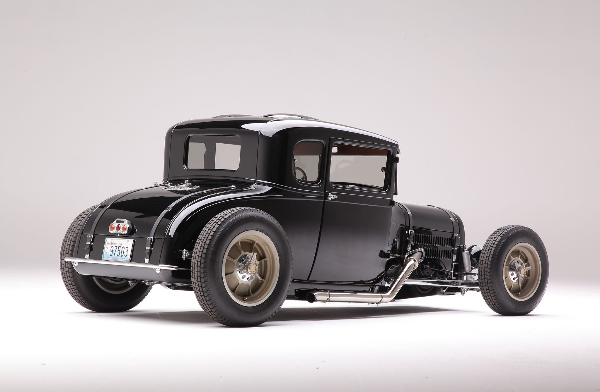 1929 Ford Model A Coupe-04 wallpaper