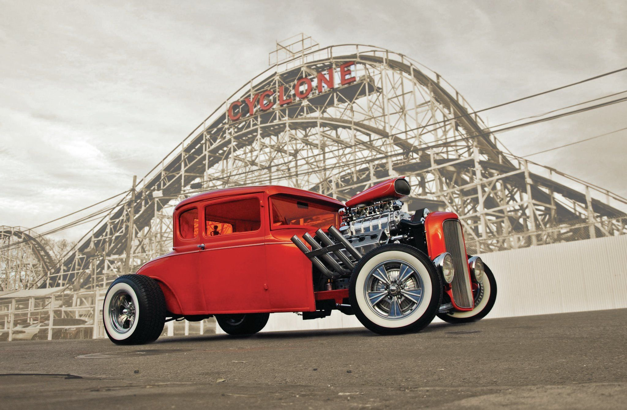 1931 Ford Model A Coupe-01 wallpaper