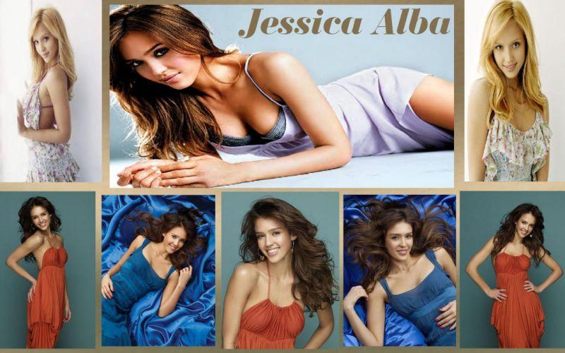 Jessica Alba 8 Pics in 1 wallpaper