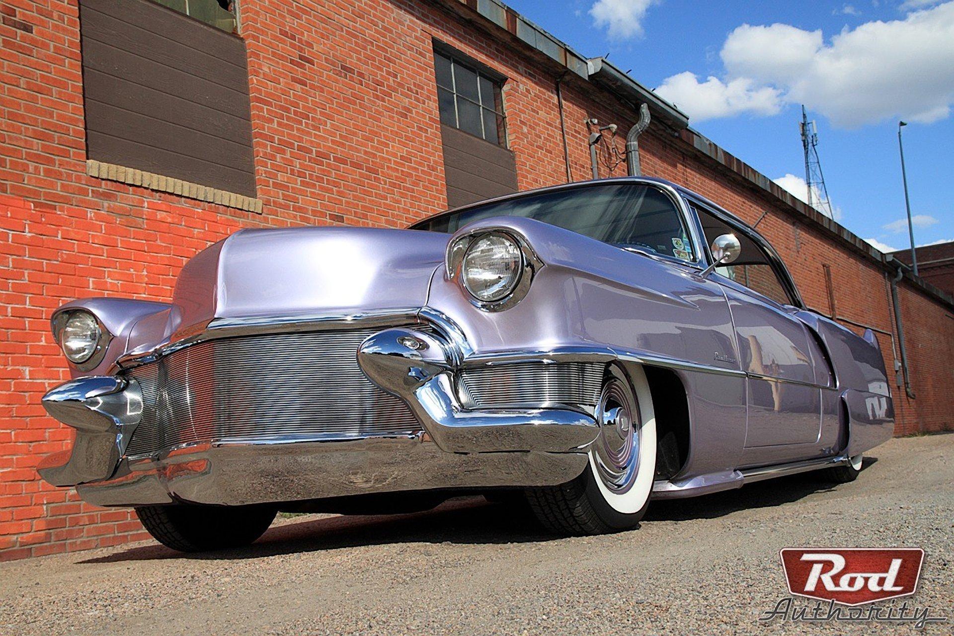 1955 Cadillac -Coupe de Ville-06 wallpaper
