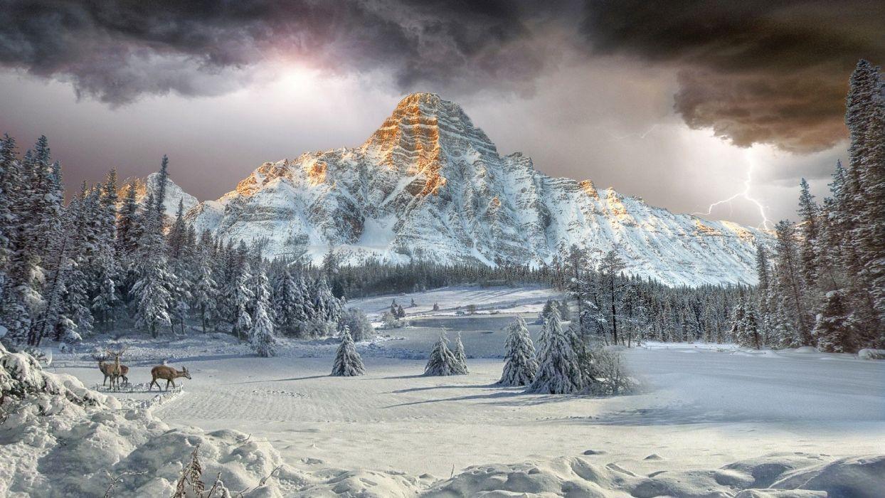 tormenta-nieve-montaA wallpaper
