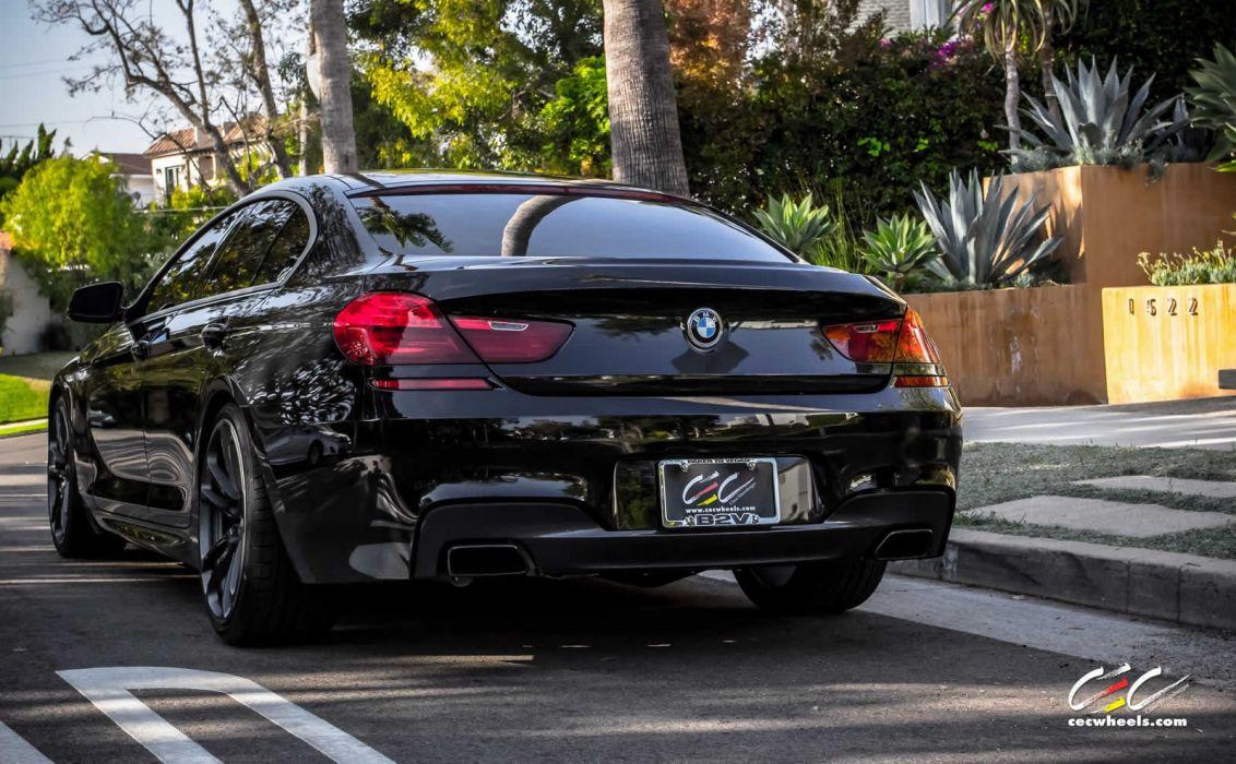 2015 cars CEC Tuning wheels BMW 650i Gran Coupe wallpaper