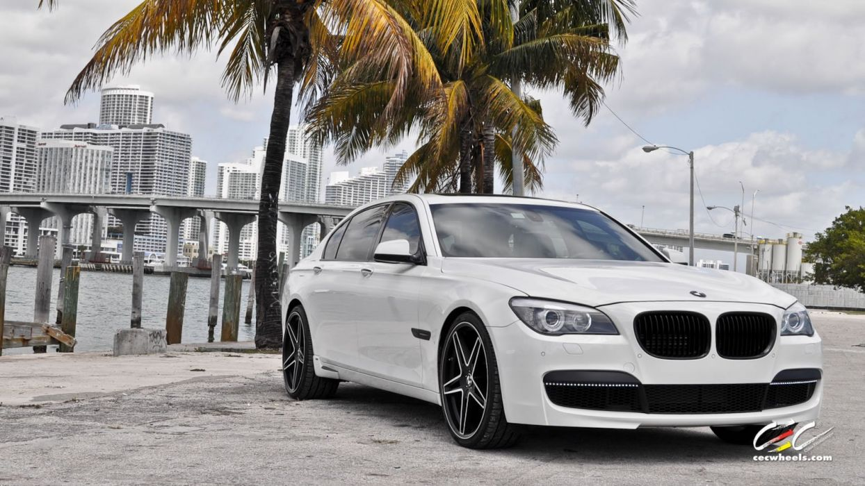 2015 cars CEC Tuning wheels BMW 7-Series wallpaper