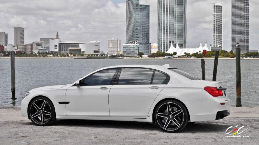 2015 cars CEC Tuning wheels BMW 7-Series wallpaper