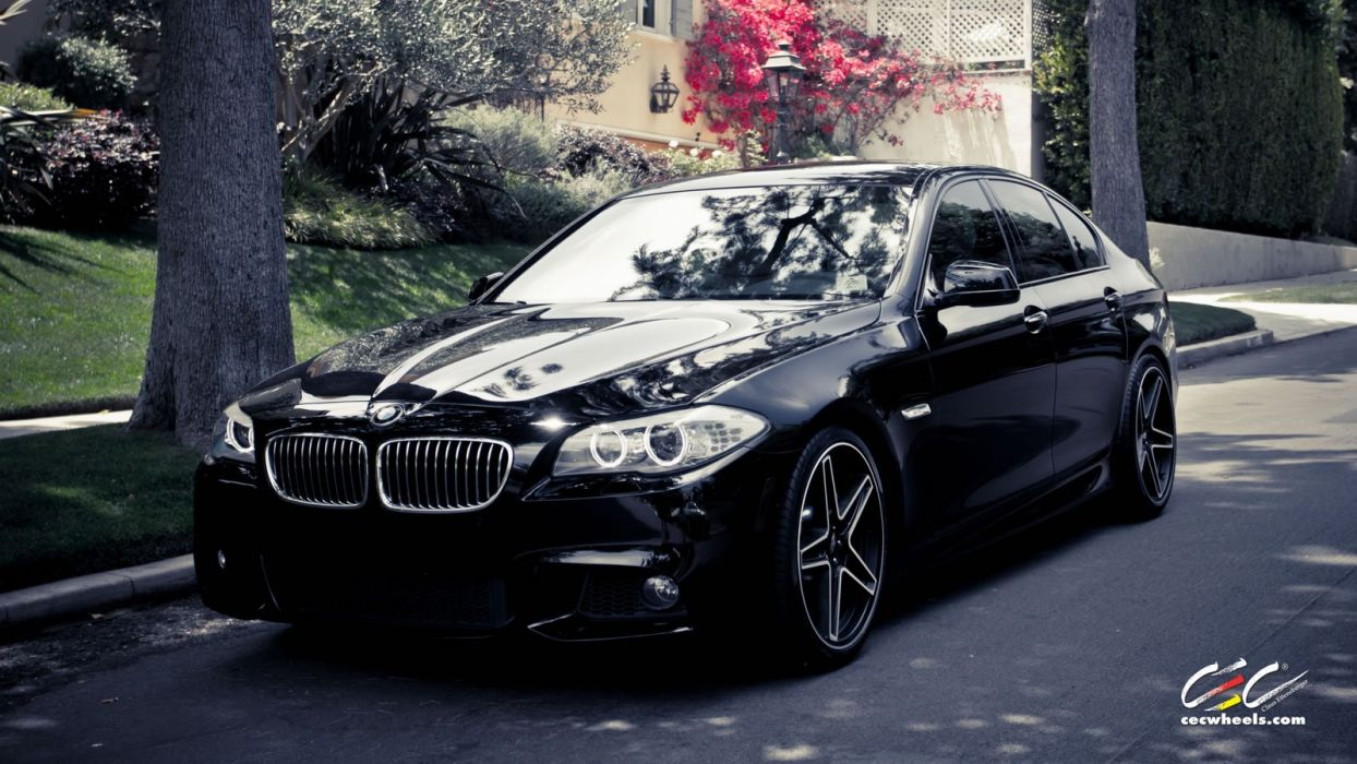 2015 cars CEC Tuning wheels BMW 550i wallpaper