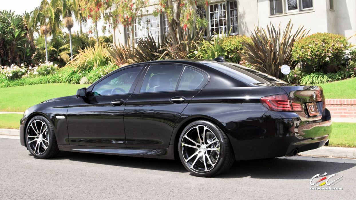 2015 cars CEC Tuning wheels BMW 5 series wallpaper