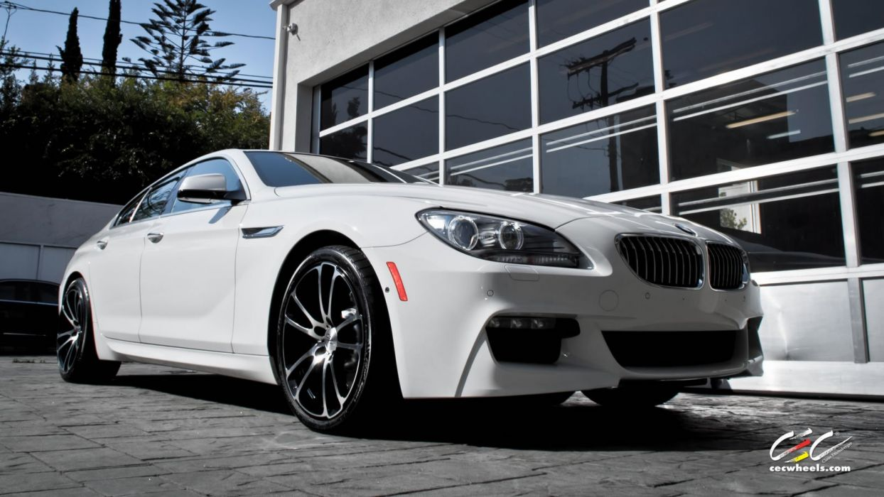 2015 cars CEC Tuning wheels BMW 640i Gran CoupA wallpaper