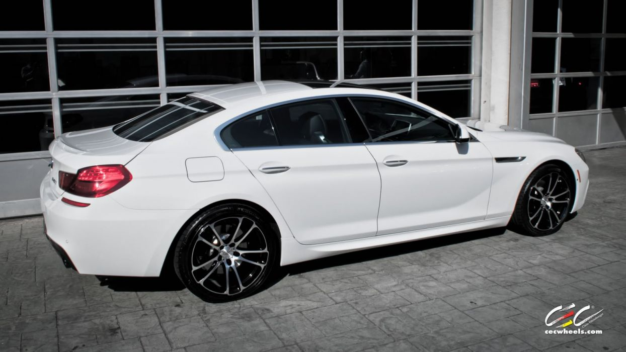 2015 cars CEC Tuning wheels BMW 640i Gran CoupA wallpaper