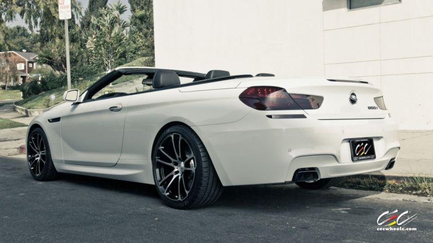 2015 cars CEC Tuning wheels BMW 650i Convertible wallpaper