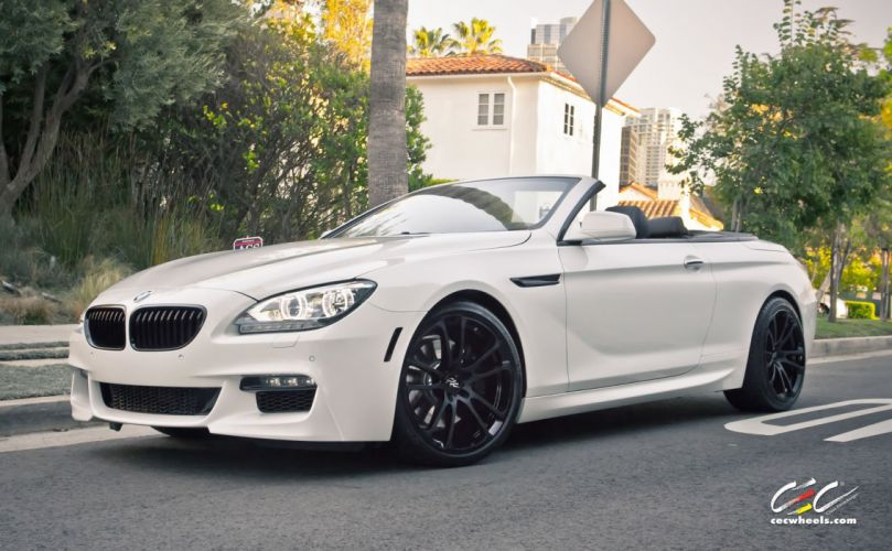 2015 cars CEC Tuning wheels BMW 650i Convertible wallpaper