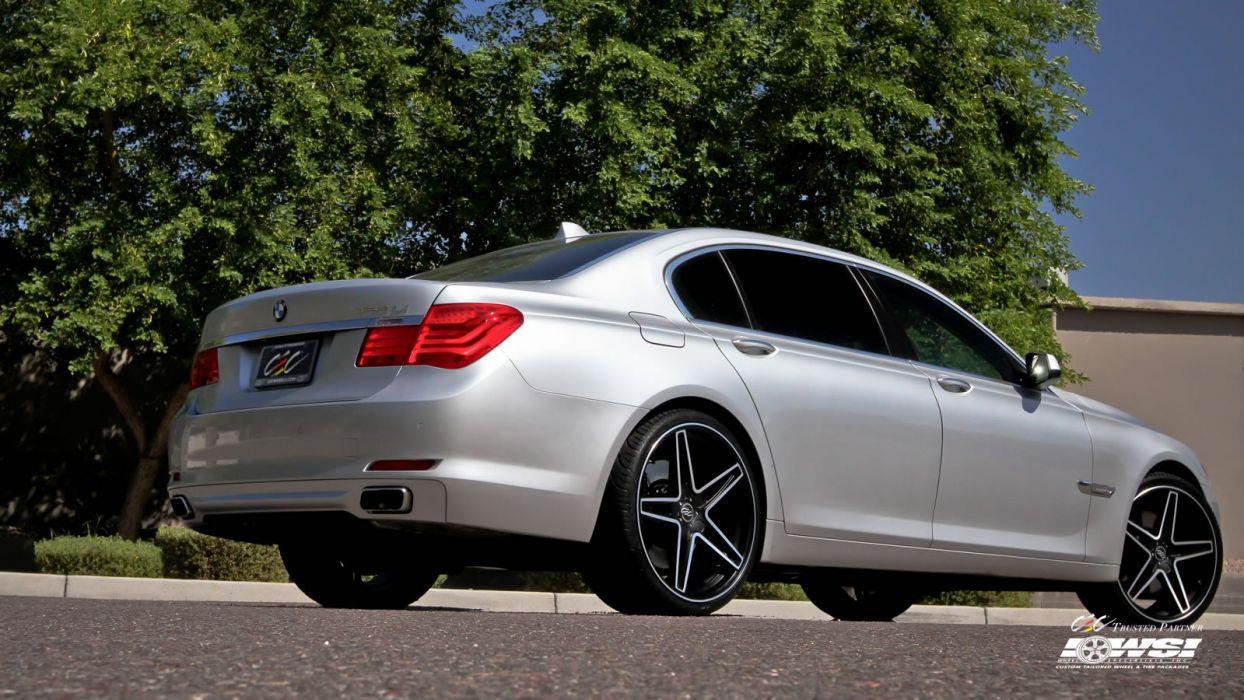2015 cars CEC Tuning wheels BMW 7 series wallpaper
