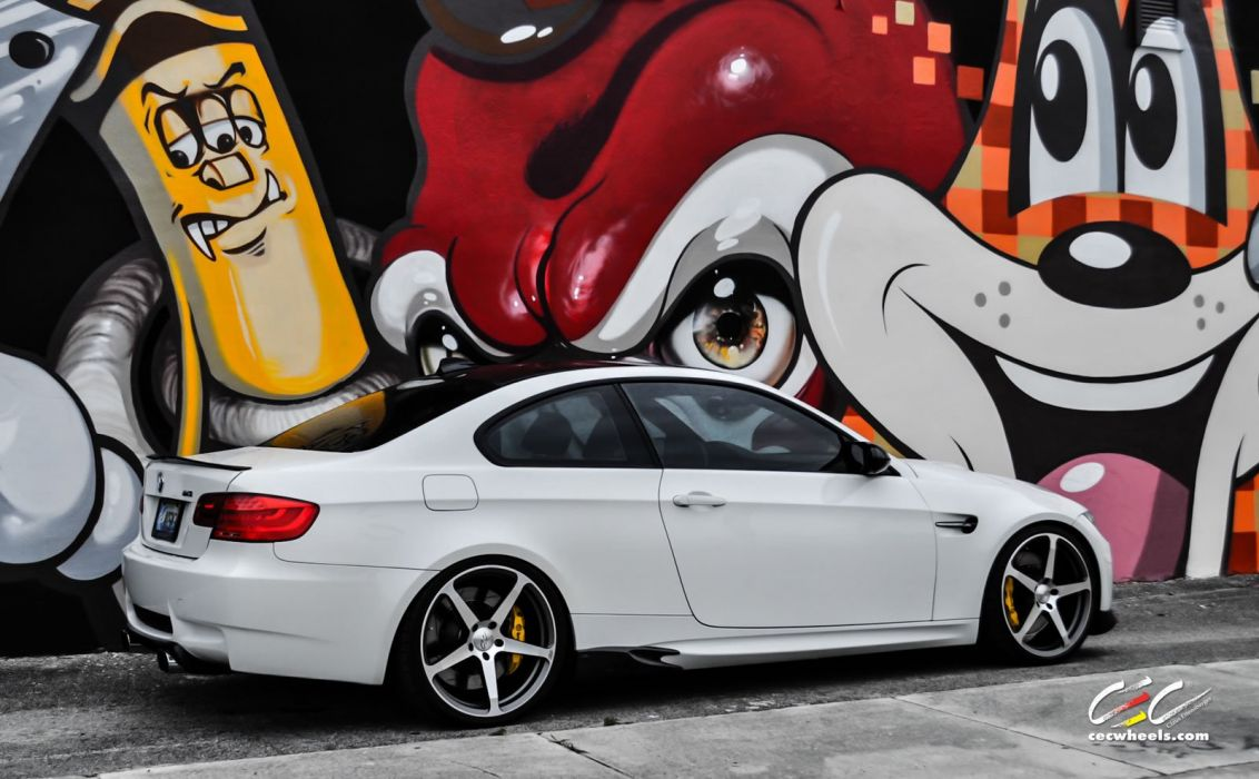 2015 cars CEC Tuning wheels BMW m3 e92 wallpaper