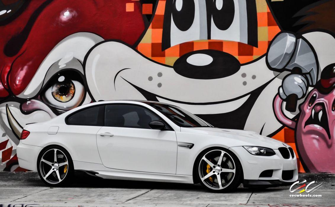 2015 cars CEC Tuning wheels BMW m3 e92 wallpaper