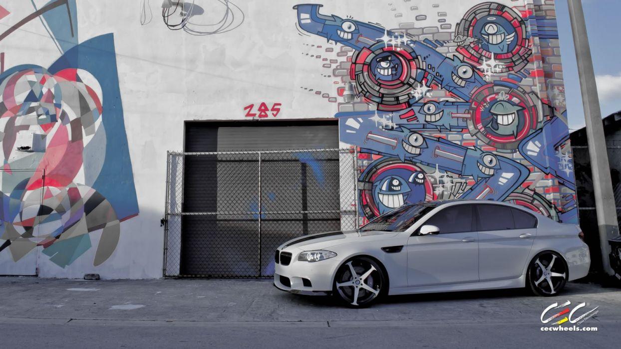 2015 cars CEC Tuning wheels BMW m5 f10 wallpaper