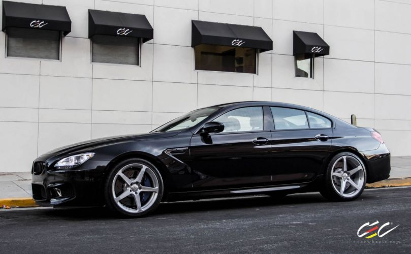 2015 cars CEC Tuning wheels BMW M6 Gran Coupe wallpaper