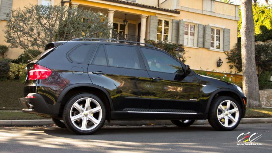 2015 cars CEC Tuning wheels BMW x5 suv wallpaper