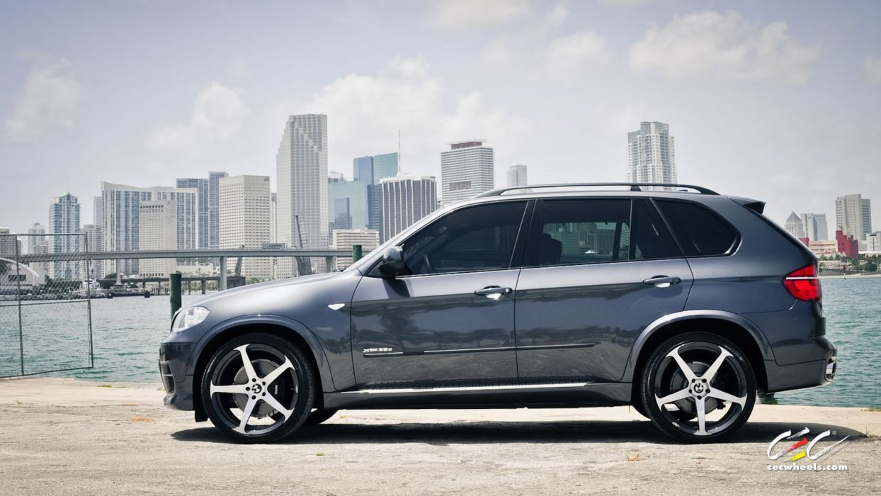 2015 cars CEC Tuning wheels BMW x5 suv wallpaper