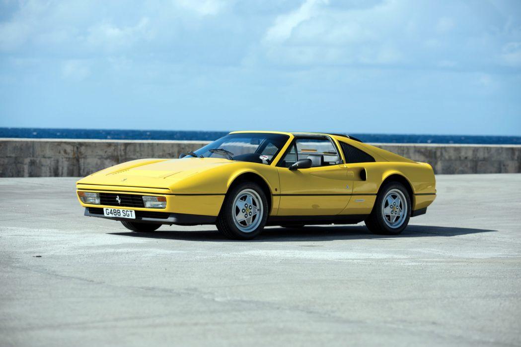 1987 Ferrari 328 GTS Pininfarina supercar wallpaper