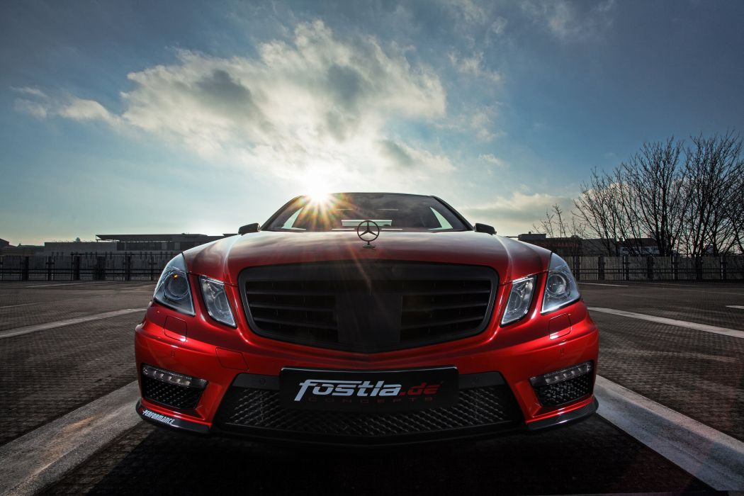 2015 Fostla Mercedes Benz E63 AMG W212 tuning wallpaper