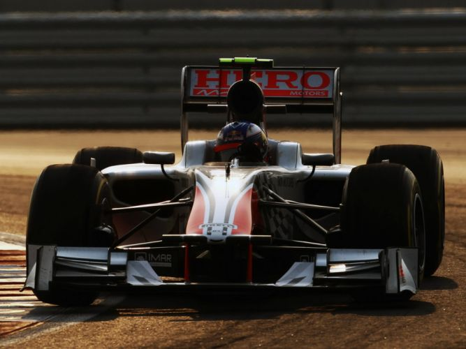2011 HRT F111 Hispania F-1 formula race racing wallpaper