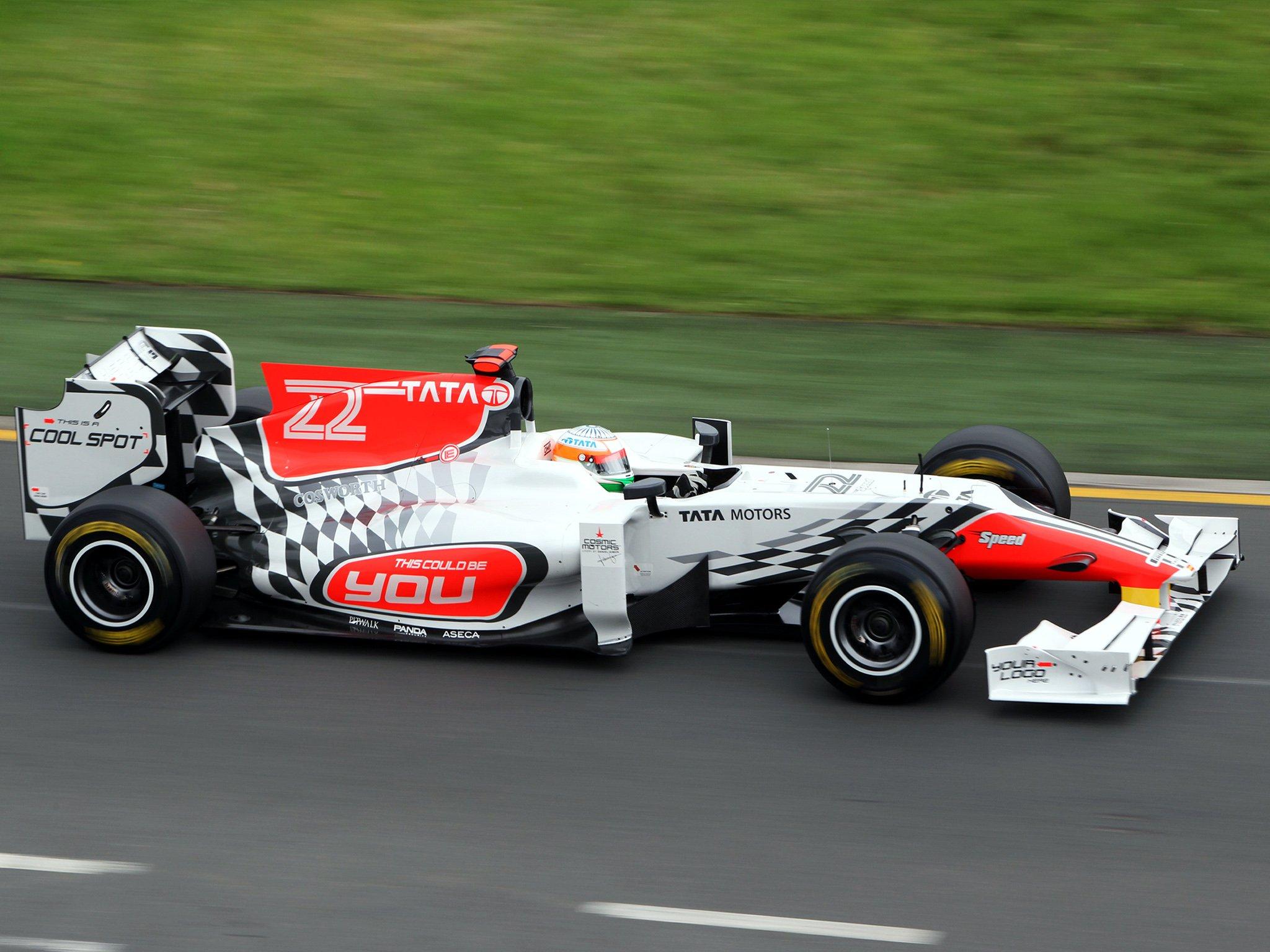 HRT Formula 1 Background 9