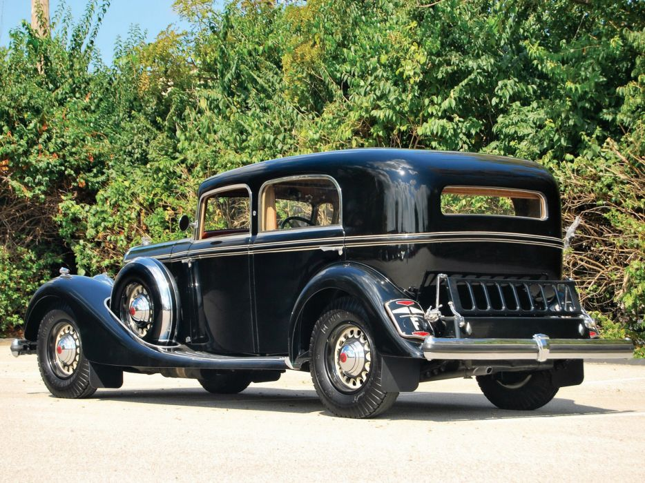1936 Panhard Panoramique X73 Berline luxury retro wallpaper
