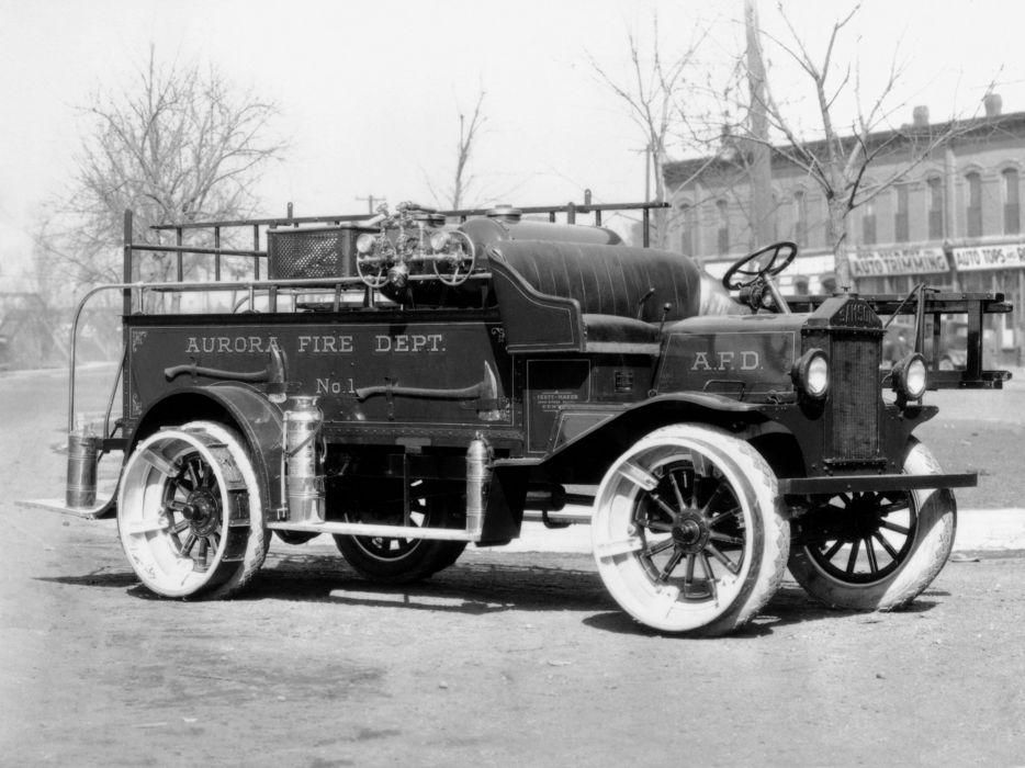 1923 Samson Chemical Truck firetruck fire retro vintage semi tractor emergency wallpaper