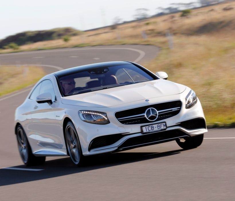 2015 Mercedes Benz S63 AMG Coupe AU-spec C217 wallpaper