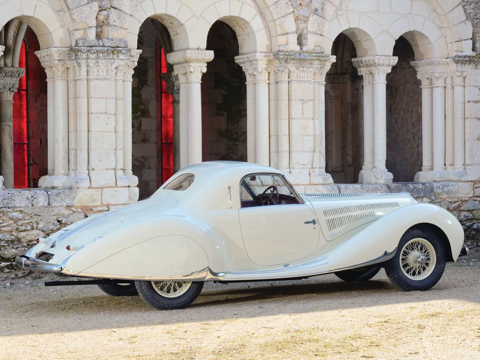 1938 Delahaye 135 M-S Coupe par Figoni Falaschi luxury retro wallpaper