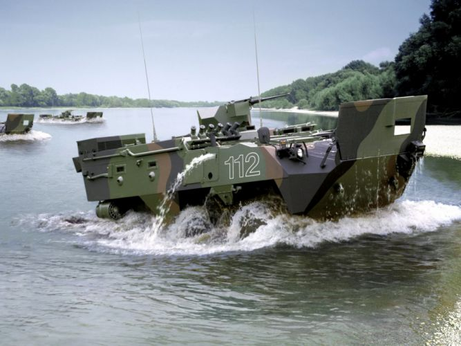 General Dynamics Pandur 6x6 armored apc military offroad wallpaper