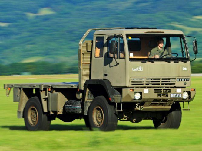 1988 Steyr 12M18 4x4 military semi tractor wallpaper
