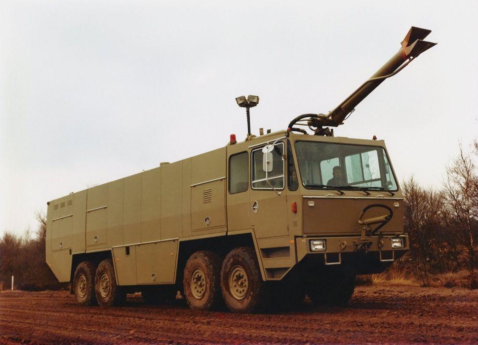 Kronenburg MAC12S emergency firetruck emergency military semi tractor wallpaper