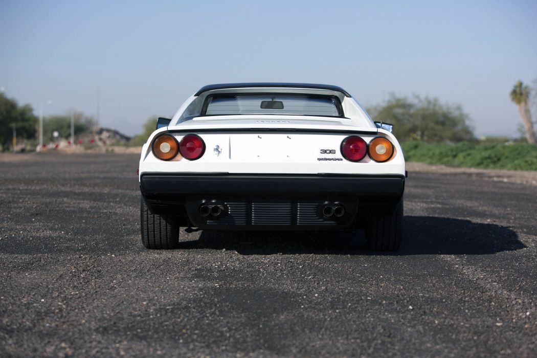 1982 Ferrari 308 GTS Quattrovalvole supercar wallpaper