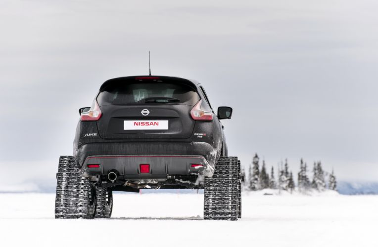 2015 Nissan Juke Nismo RSnow Concept YF15 winter snow offroad wallpaper