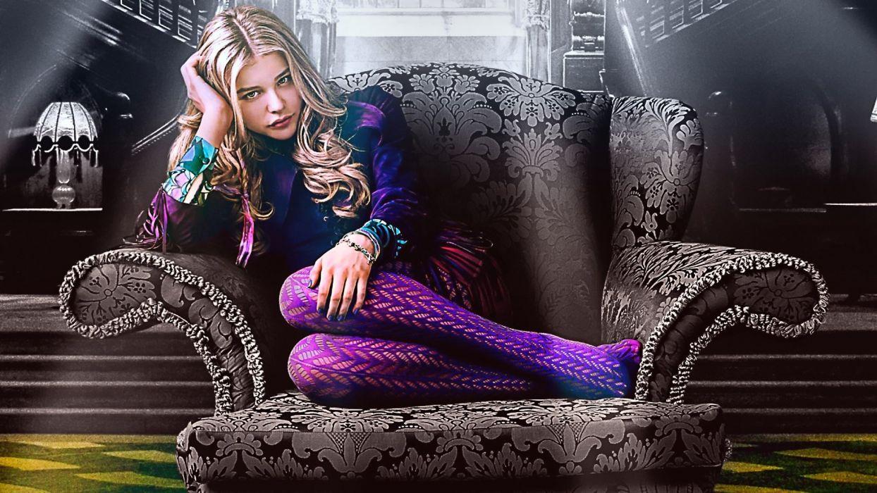 SENSUALITY - chloe moretz celebrity girl blonde wallpaper