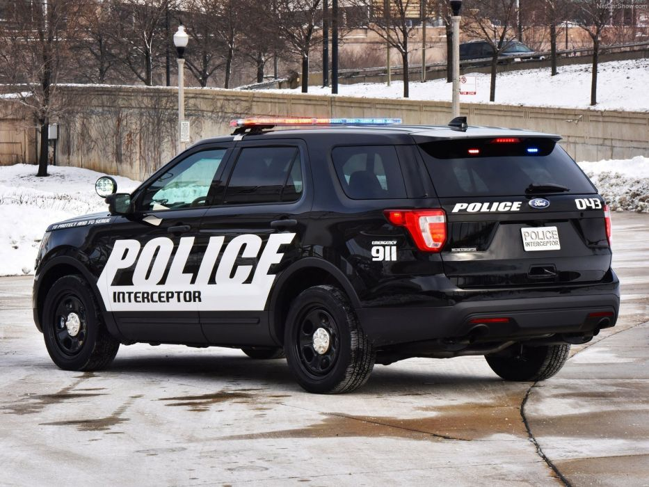 2016 Ford interceptor police utility vehicle suv wallpaper