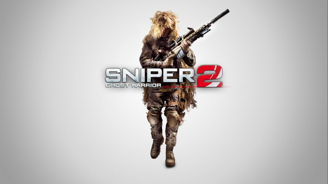SNIPER GHOST WARRIOR tactical shooter stealth military action 1sgw weapon gun poster wallpaper