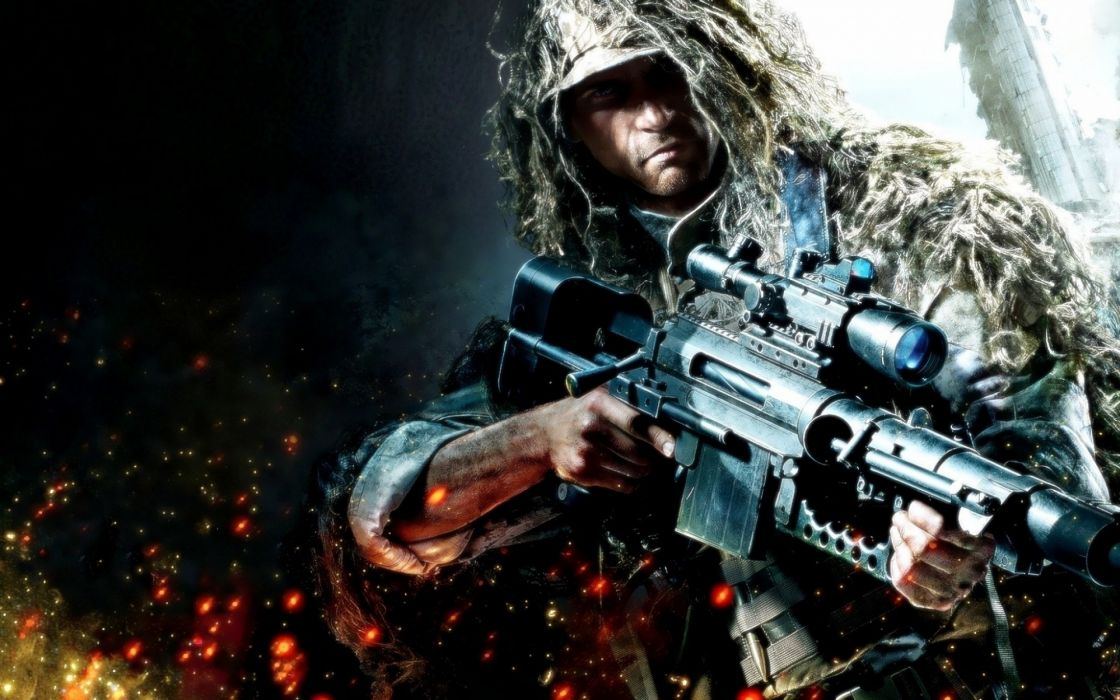 SNIPER GHOST WARRIOR tactical shooter stealth military action 1sgw weapon gun wallpaper