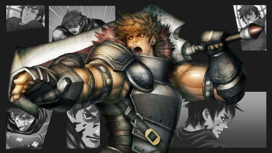DARK BLOOD ONLINE arcade scrolling fantasy rpg mmo action fighting 1dbo warrior wallpaper