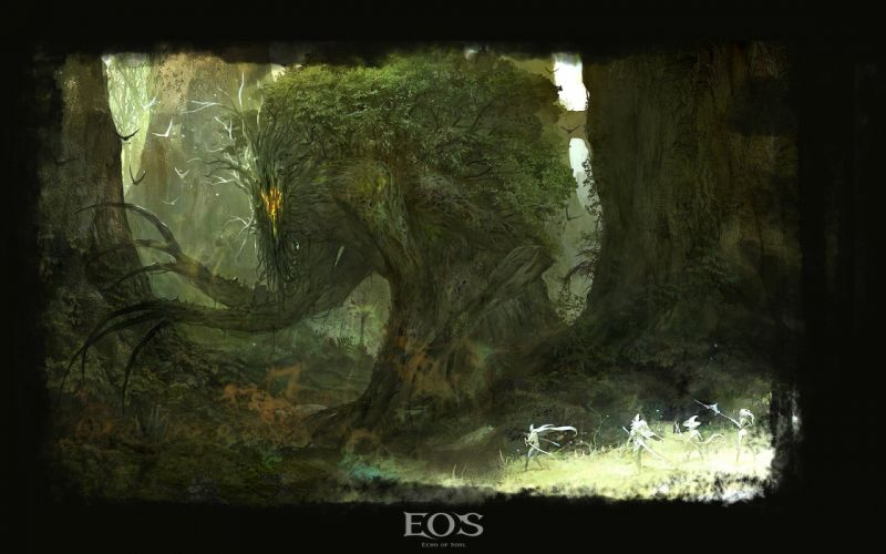 ECHO Of SOUL fantasy mmo rpg online action fighting 1eos warrior poster wallpaper
