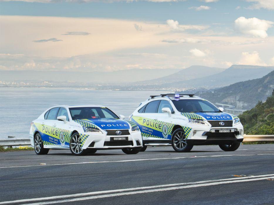 2015 Lexus luxury police emergency suv wallpaper