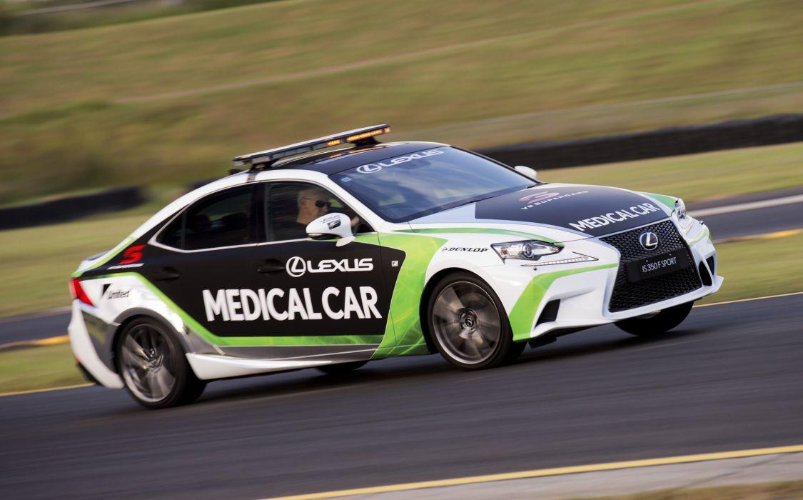 2015 Lexus I-S 350 F-Sport Medical Car X-E race racing supercars emergency wallpaper