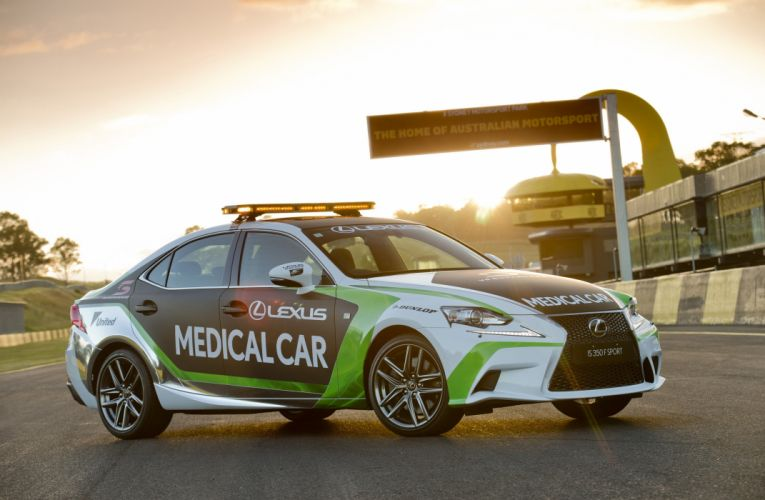 2015 Lexus I-S 350 F-Sport Medical Car X-E race racing supercars emergency wallpaper