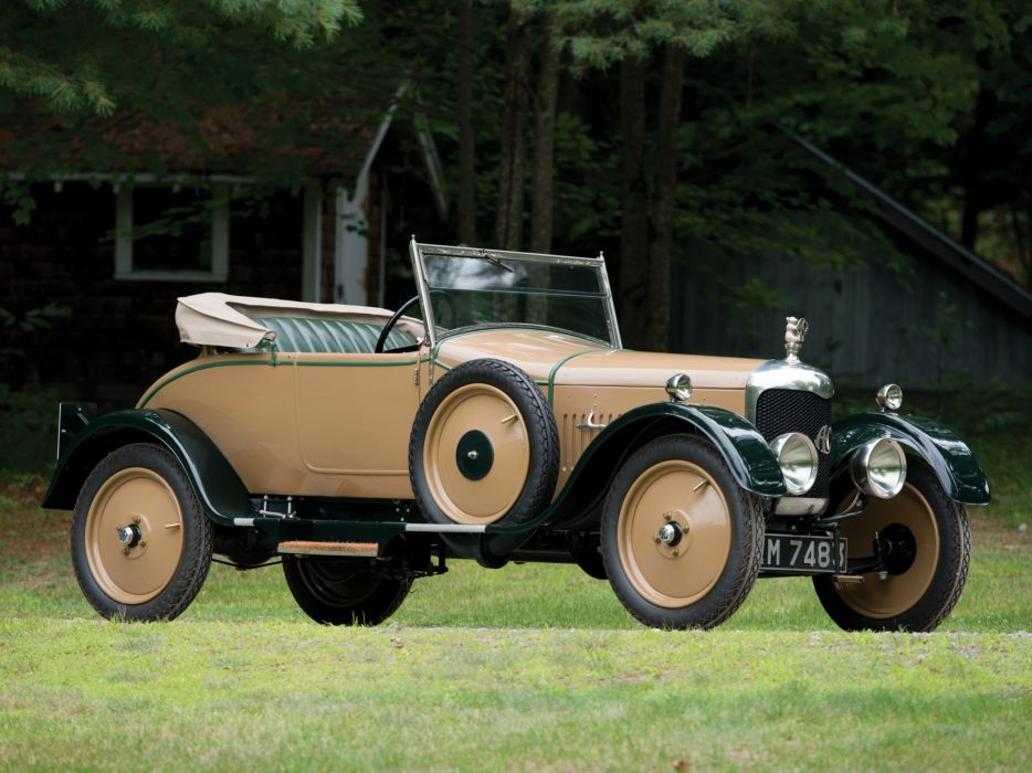 1926 A-C Model-1224 Royal Roadster retro vintage wallpaper