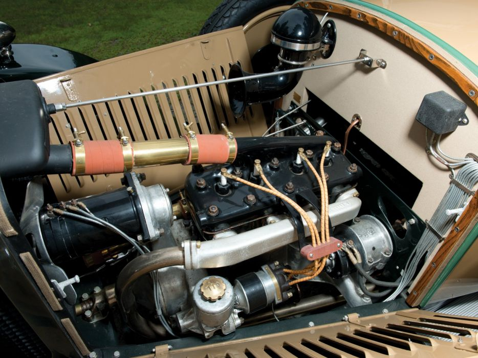 1926 A-C Model-1224 Royal Roadster retro vintage wallpaper