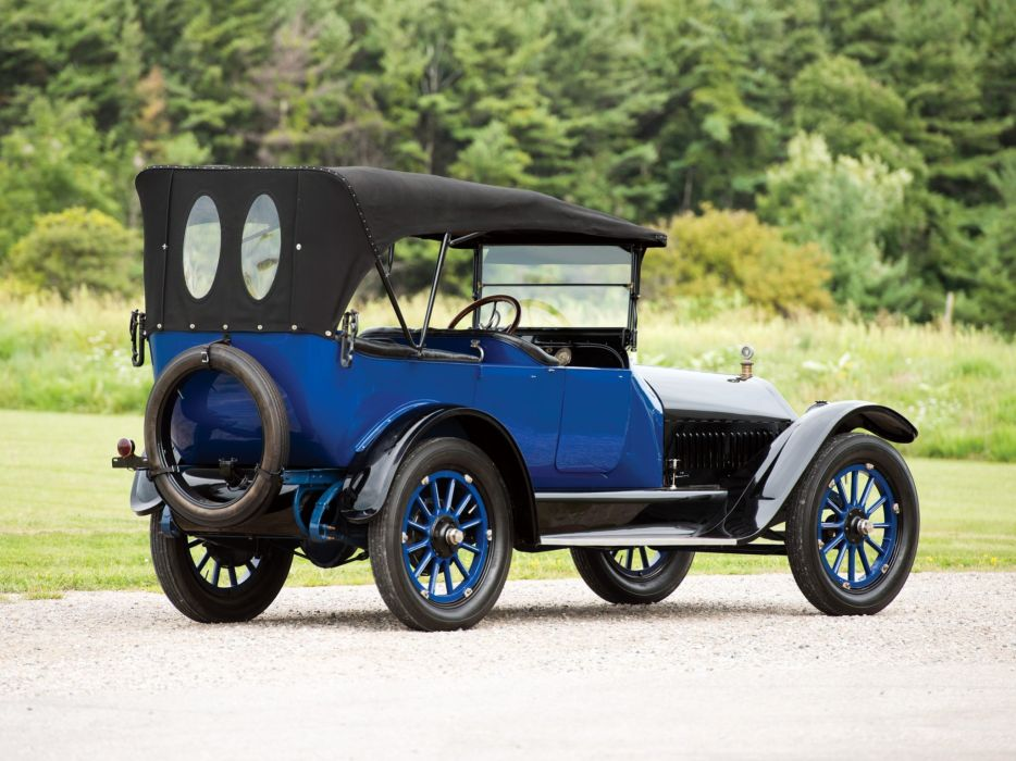 1915 Mitchell Light Six 6-passenger Touring retro vintage wallpaper