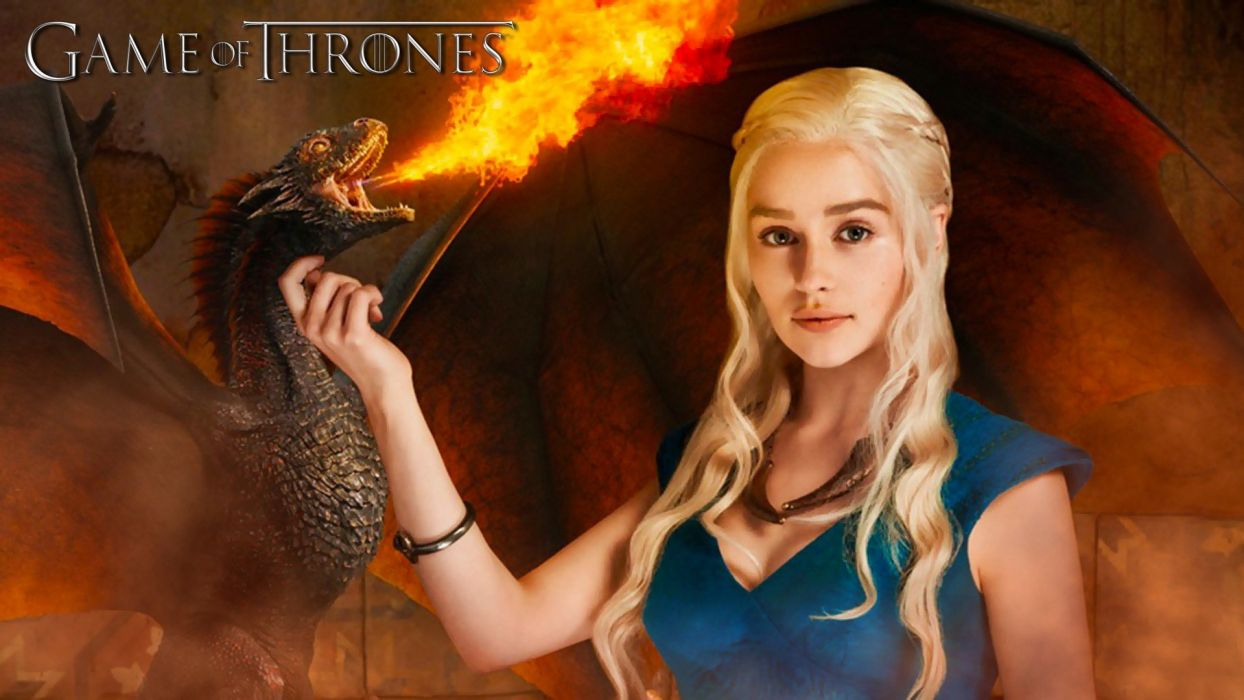 SENSUALITY - emilia clarke actresses girl dragon wallpaper